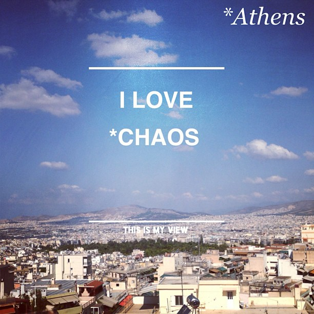 I do love Athens!
