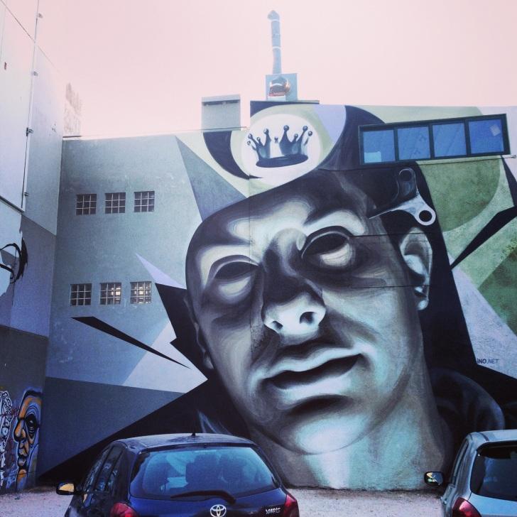 Impressive graffiti at Gkazi