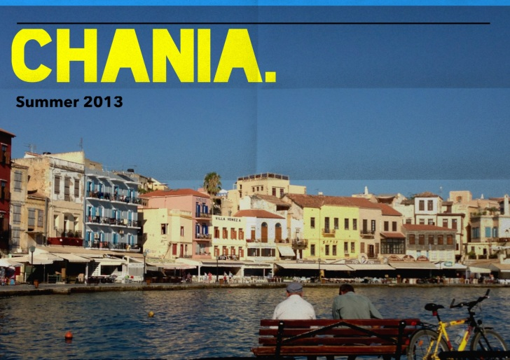 Old port in Chania seen in  smartphones applications!