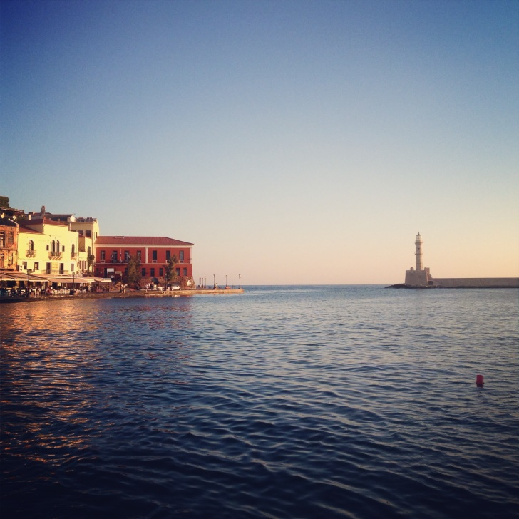 Old port in Chania