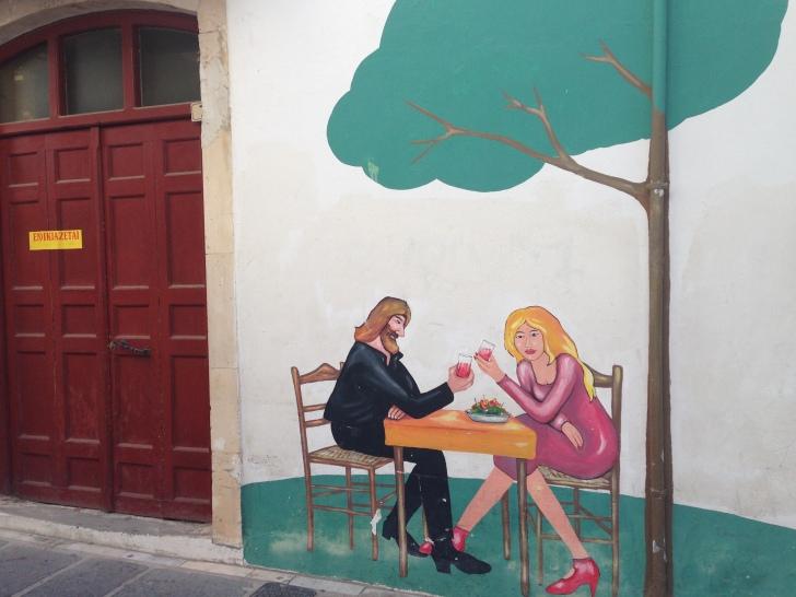 The Cretan and the scandinavian tourist cliché!