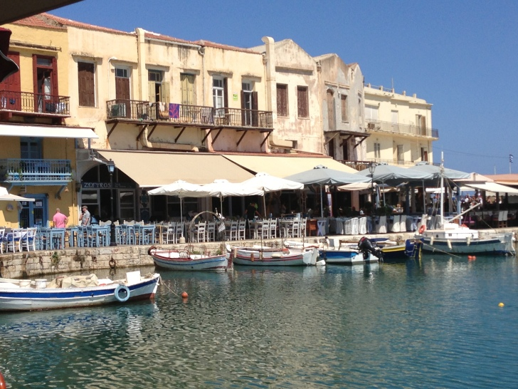Rethymno port, one of many!