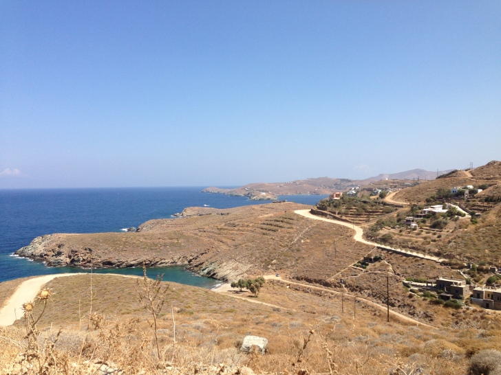 Beautiful panorama in Kea!