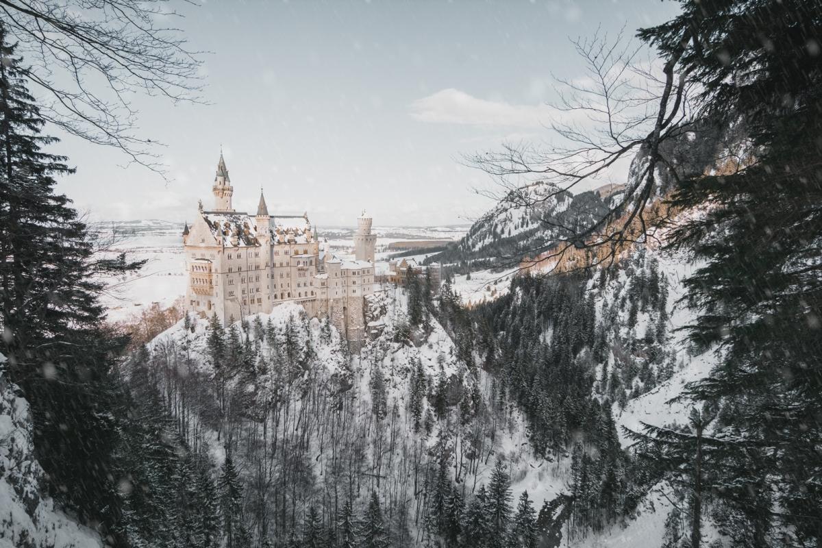 Neuschwanstein Castle, το γερμανικο καστρο που ενεπνευσε τον Disney